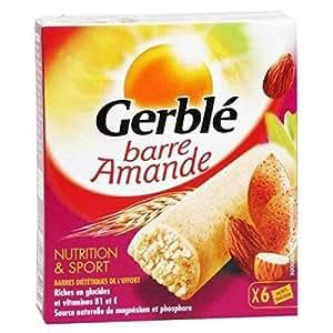 Gerblé - 6 barres amande en pochon individuel - 150g