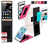Gionee Marathon M5 Lite Hülle Cover Case in Pink -