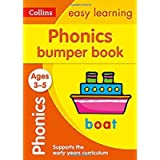 Phonics Bumper Book Ages 3-5: Ideal for home learning (Collins Easy Learning Preschool)