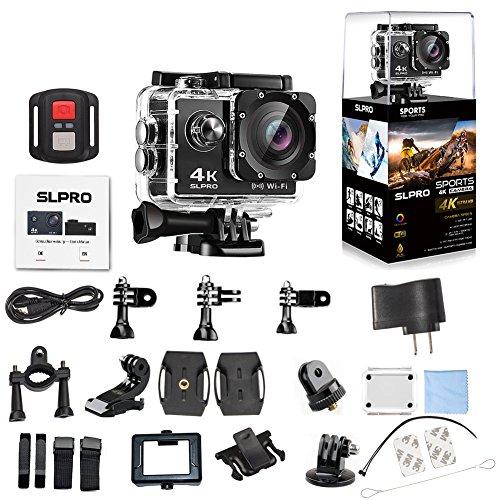 Preisvergleich Produktbild Action Cam WiFi Digital Kamera Sport DV Camcorder Wasserdicht (4K Ultra HD)