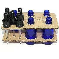 Bee Beautiful 30ml Blau Glasflasche Mit Klarem Glas Pipetten - Blau, 5 x 30ml bottles preisvergleich bei billige-tabletten.eu