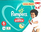 Pampers Baby-Dry Pants Größe 6, 84 Windeln, Mit Luftkanälen, 84 Stück