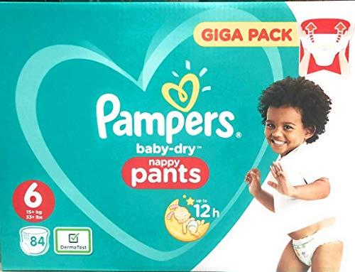 Pampers Baby-Dry Pants Größe 6, Windeln, Mit Luftkanälen, 84 Stück