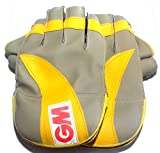 #8: Wicket Keeping Gloves. Leather Gloves for Cricket, Color As per Availability,Size- 28/ 20 cm