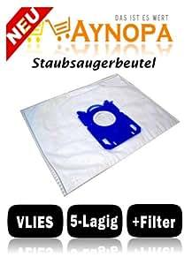 Lot de 10 sacs aspirateur pour philips fC expression 8620) 8620 8612 01/fC fC 8608 fC8617
