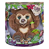 Furreal Friends - Peluche Interactive Cubby, l'Ours Curieux - Version française