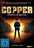 Copper - Justice Is Brutal. Staffel Eins [3 DVDs]