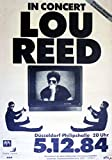 Lou Reed reproduction Concert photo affiche 40x30cms