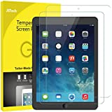 JETech Screen Protector for iPad (9.7-inch, 2018/2017 Model), iPad Air 1, iPad Air 2, iPad Pro 9.7-Inch, Tempered Glass Film, 2-Pack