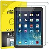 JETech Protection Écran Compatible iPad (9,7 Pouces, Modèle 2018/2017, 6ème/5ème Génération), iPad Air 1, iPad Air 2 et iPad Pro 9,7 Pouces, Verre Trempé, Lot de 2