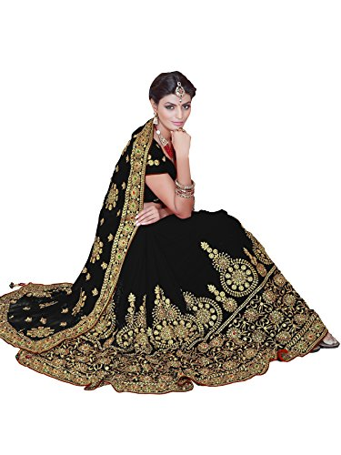 Bollywood Kleider Damen Sari mit Ungesteckt Oberteil/Top, gebraucht gebraucht kaufen  Wird an jeden Ort in Deutschland