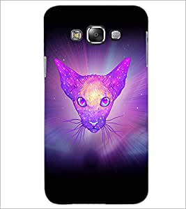 PrintDhaba Cat D-3461 Back Case Cover for SAMSUNG GALAXY A8 (Multi-Coloured)