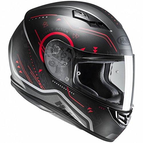 HJC CS-15 - SAFA / MC1SF - Integralhem/Sporthelm/Motorradhelm, GröàŸe:XXL