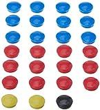 Cawila Teamset Ersatz Magnete für Taktiktafel Coachboard 30 x 45 cm, mehrfarbig, M, 00441740