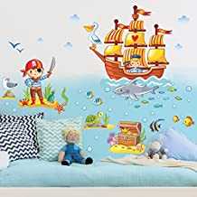 Piraten deko kinderzimmer  Suchergebnis auf Amazon.de für: piraten kinderzimmer
