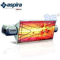 Lampada riscaldatore elettrico a raggi infrarossi KALORDOMUS