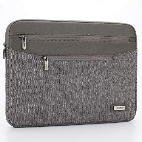 LONMEN Laptop Sleeve Spritzwassergeschützte Laptoptasche 15.6 Zoll verdickt und krat zfest Liner-Pakete sind geeignet für 15.6