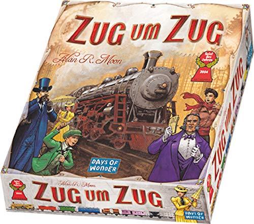 Zug um Zug - Grundspiel - Original | DEUTSCH | Spiel des Jahres 2004