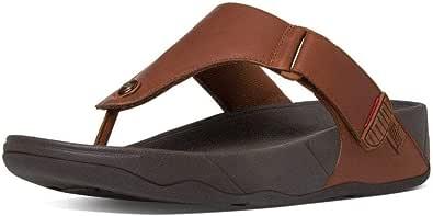 Fitflop Men's Trakk Ii Toe Post-Leather Open Sandals