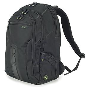 """51fCyR9qNWL. SS300  - Targus EcoSpruce - Mochila de 27 litros Ideal para viajes de trabajo, estudio, gimnasio y fin de semana, se adapta a la mayoría de las laptops de hasta 15.6 """"- Negro"""