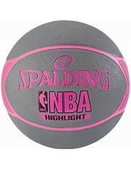 Spalding NBA Highlight Ballon de Basket Femme