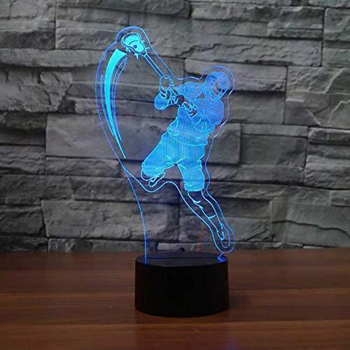 Zoom IMG-3 3d lampada da tavolo giocatore