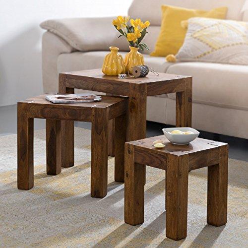 Naturholz Beistelltische im Vergleich - Beste-Tische.de
