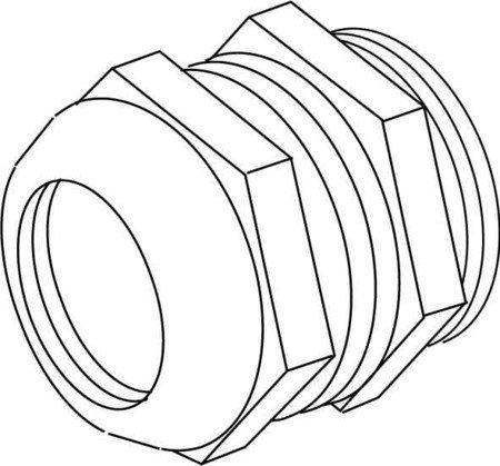 Klei nhuis ipon Câble raccord union 2234 M32 M32 MS Raccord union 4011126378276