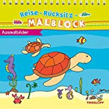 Reise-Rücksitz-Malblock Ausmalbilder (Rätsel, Spaß, Spiele)