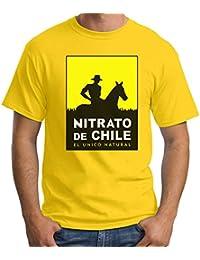 35mm - Camiseta Hombre Nitrato De Chile-Retro 80s