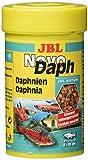 JBL NovoDaph 30700 Leckerbissen für Aquarienfische naturgetrocknete Wasserflöhe, 100 ml