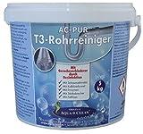 AQUA CLEAN PUR Reiniger für Rohre & Abflüsse Neu mit Geruchsverhinderer durch Desinfektion 5kg