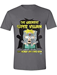 South Park - The Fractured But Whole Professor Chaos Homme T-Shirt - Gris