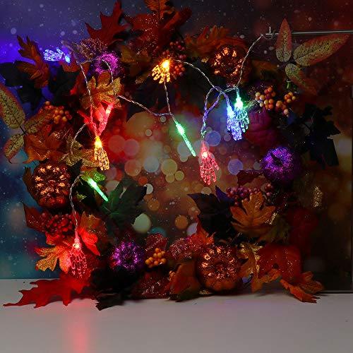 String Light TAOtTAO 1.2m Halloween String Light with 10 LED Light Strip Party Garden Patio Decoration (Mehrfarbig)