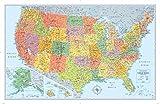 Rand McNally Signature United States Wall Map - Laminated -