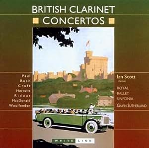 British Clarinet Concertos (Sutherland)