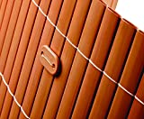 Befestigungsset für PVC Sichtschutzmatten braun, 26 Stück - Sichtschutzzäune Sichtschutzwand Gartensichtschutz Balkonsichtschutz Winschutz Sichtschutzwand für Garten und Terasse Blichschutz für Balkon Sichtschutzwände Sichtschutzwände, WPC Sichtschutz </p> --> großes Sortiment an Sichtschutz, Bambus, Schilf und Naturprodukte für Garten