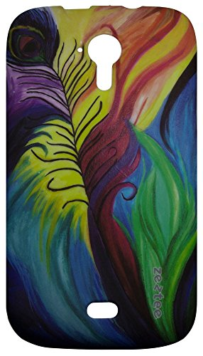 Zeztee Printed Soft TPU Mobile Back Cover for Micromax Canvas HD A116 ZT0033  available at amazon for Rs.169