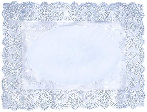 24LED de oro papel de aluminio blondas de encaje redondo Pastel embalaje papel alfombrilla 12inch