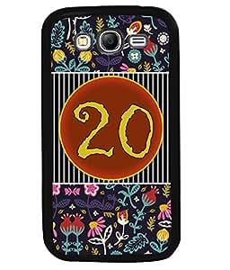 PrintVisa Metal Printed Numeric Designer Back Case Cover for Samsung Galaxy Grand Neo Plus I9060I-D4770