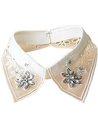 Vêtements de mode accessoire faux collier détachable col chandail pour femmes, # 01