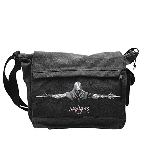 Assassins Creed - Messenger Borsa a tracolla - Ezio - Logo