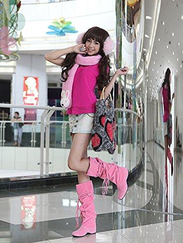 Inverno Sexy Donna Da Stivali Neve Aumentate Nuovo 41 Sono 5 34 Dimensioni Da Donne Autunno Donna Del Metà 5 Scarpe Polpaccio Grandi q4EwY