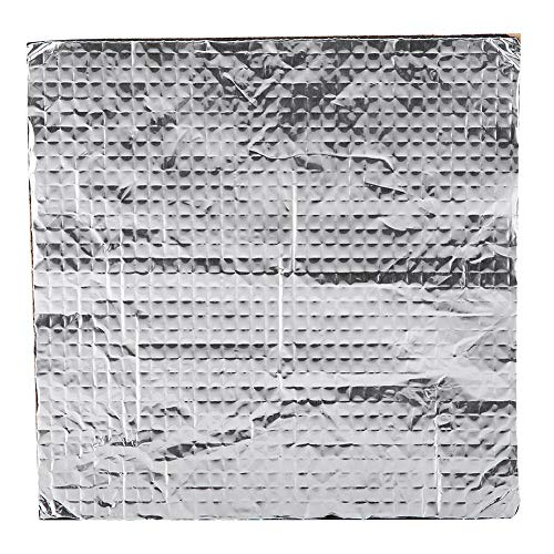 Eboxer 3D-Drucker beheizte Bett Selbstklebende Wärmedämmung Baumwolle wasserdicht Beheizte Bett Wärmedämmung (300 * 300mm)
