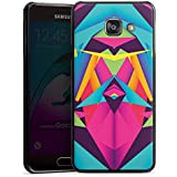 Samsung Galaxy A3 (2016) Housse Étui Protection Coque Couleurs sympas Triangles Triangles