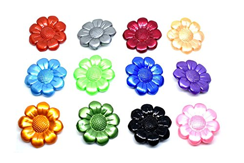 Catalyst Set Of 12 Multi Coloured Fashion Plastic Cover Scarves Safety Pin,...