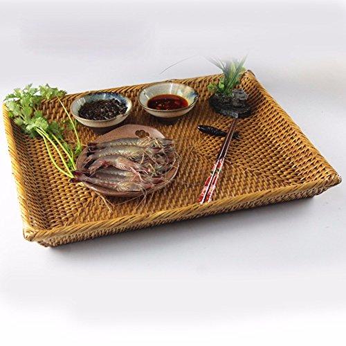 SSBY Tessuto cesti di pane cena piastra piastra sala asciugamano cesto storage,39*28*7cm