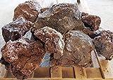 Der Naturstein Garten 25 kg Lava Steine 200-500 mm - Lavastein Aquarium Terrarium - Lieferung KOSTENLOS