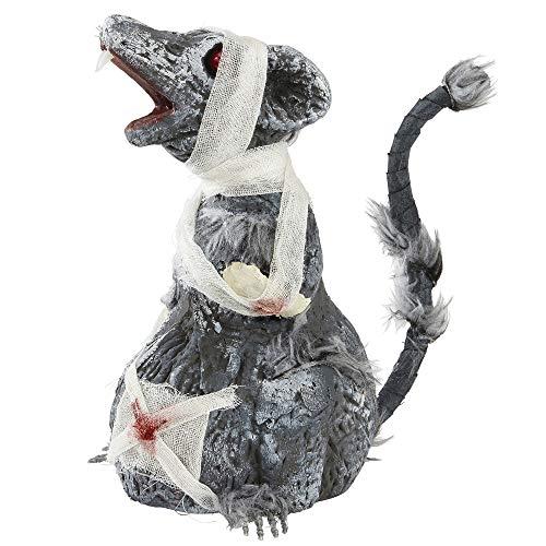Widmann 04875 - Zombie Ratte, Größe Circa 24 cm