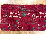 Zerbino con decorazione natalizia, sottile e funzionale. Sottofondo in feltro. Inserti in glitter. Ottima idea regalo o come decorazione. MADE IN ITALY